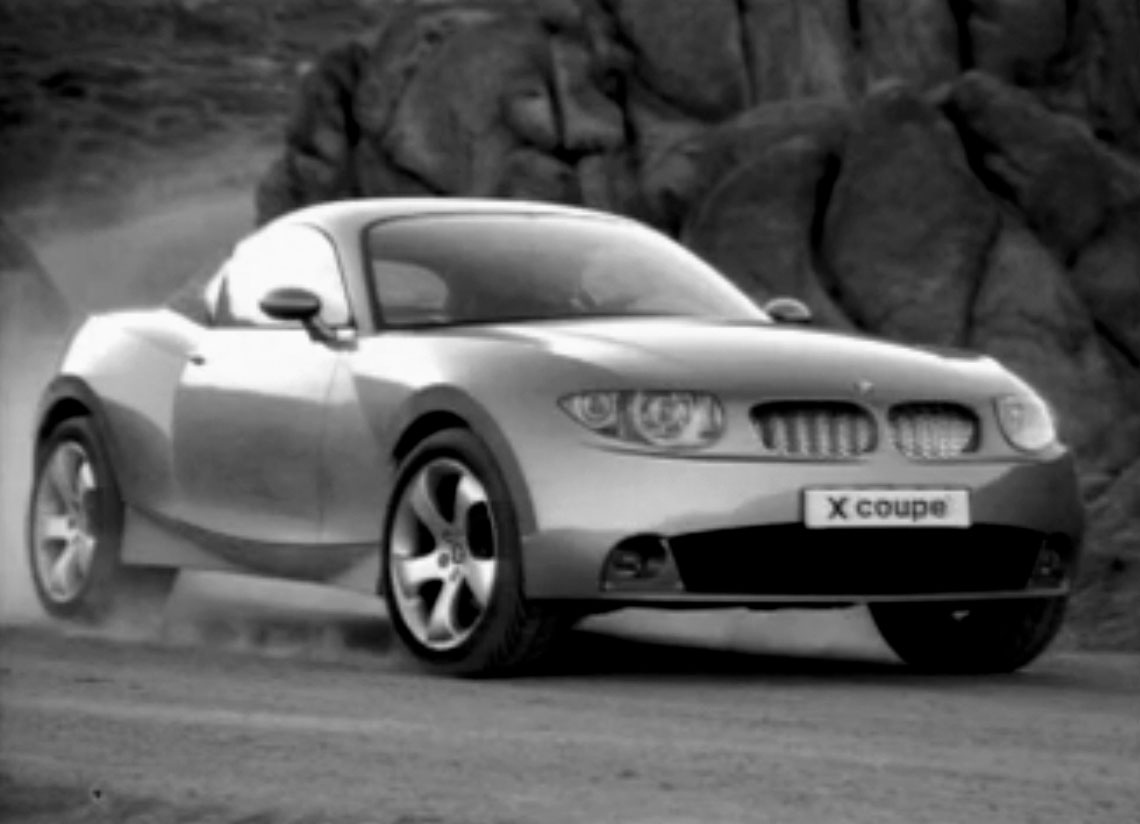 BMW X Coupé Showcar, Test Drive, Mojave Desert 1999