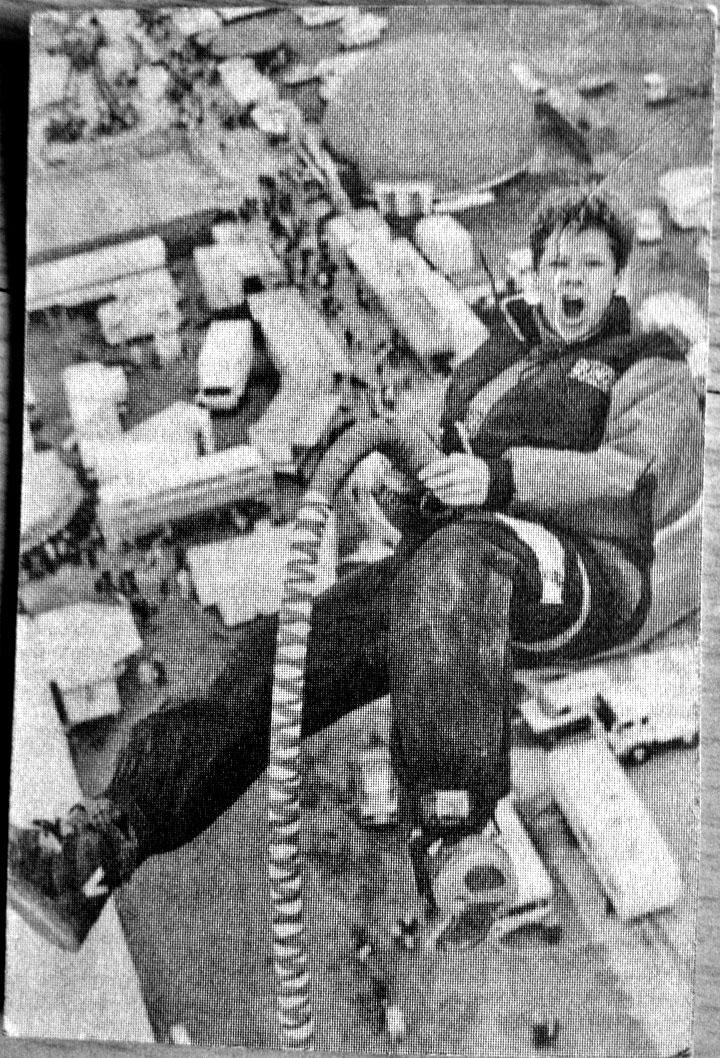 Me @ Bungee Stunt Show, Muehlheim, 1991